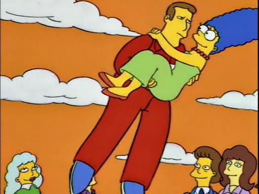 Marge se fuga