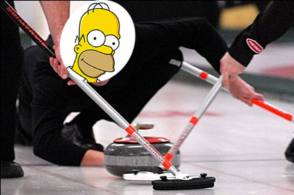homercurling