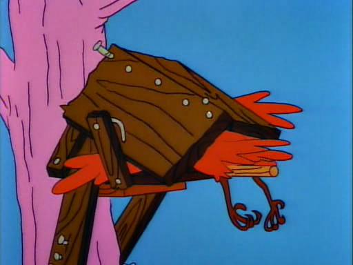 Homer's Birdfeeder