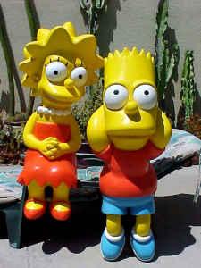 Lifesize Lisa & Bart