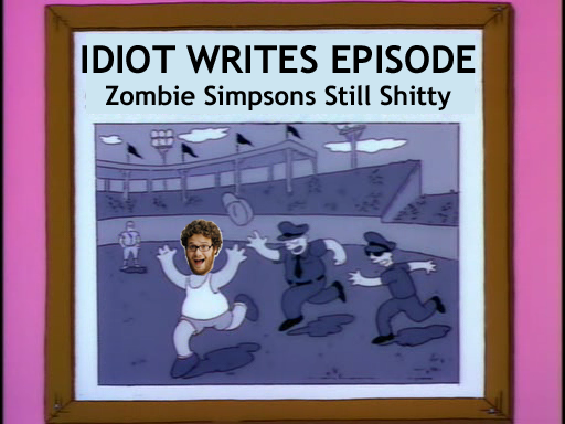 Seth Rogan Writes Zombie Simpsons