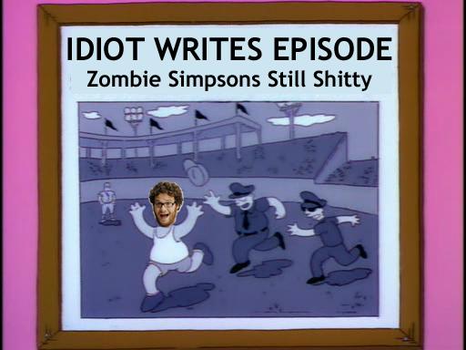 Seth Rogan Writes Zombie Simpsons