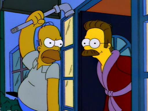 Homer Loves Flanders1