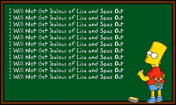 Chalkboard - O Brother Where Bart Thou