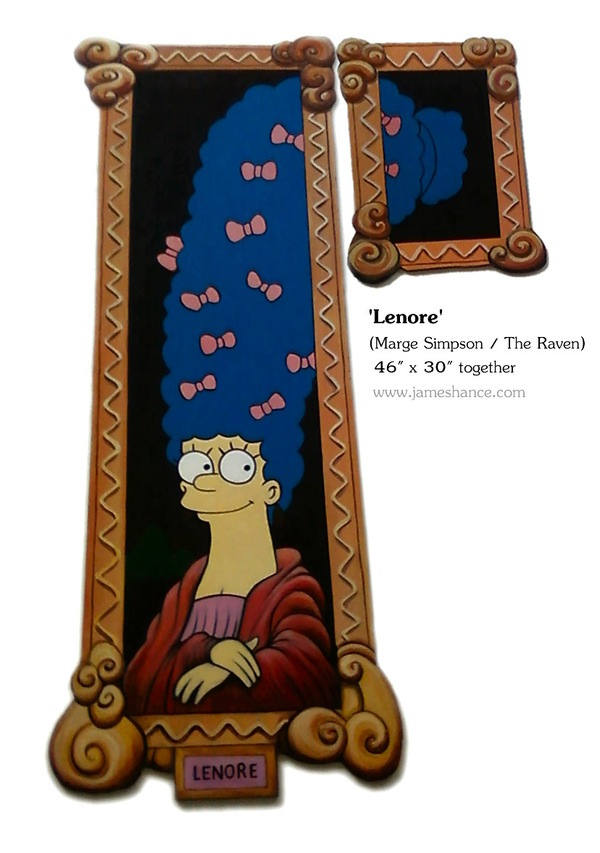 Marge as Lenore (James Hance)