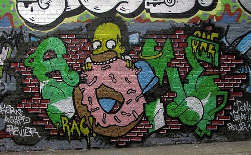 Homer Graffiti