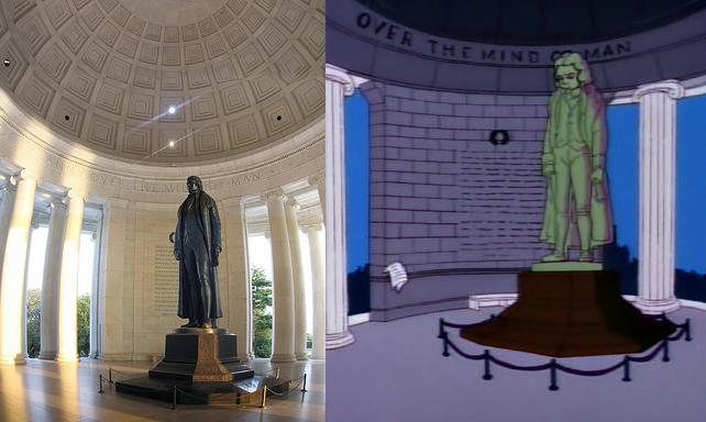 Jefferson Memorial, Deserted As Always