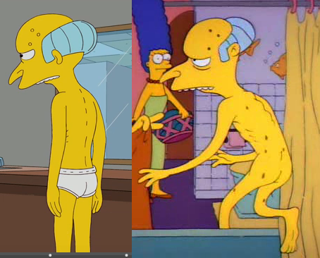 Congratulate, Mr burns the simpsons marge porn consider