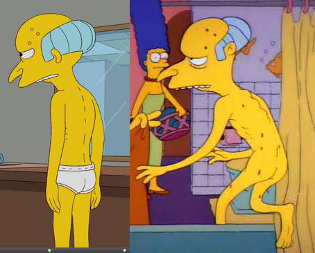 Nude Burns