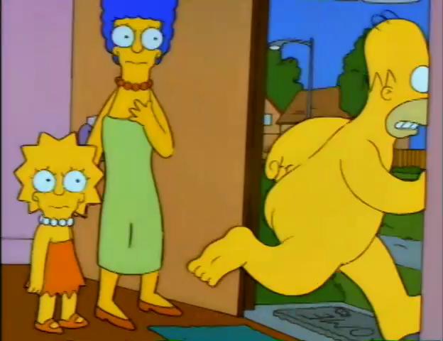 Lisa Simpson Nude
