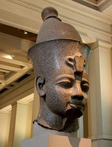 British Museum, Colossal Granite Head of Amenhotep III (Room 4)