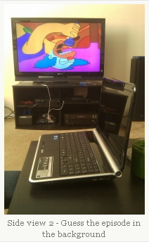 Krusty and the New Laptop