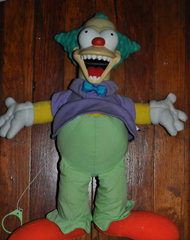 Evil Krusty Doll
