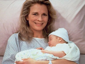 Murphy Brown With Baby