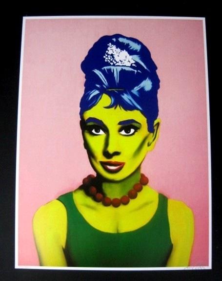 Audrey Hepburn Marge Simpson