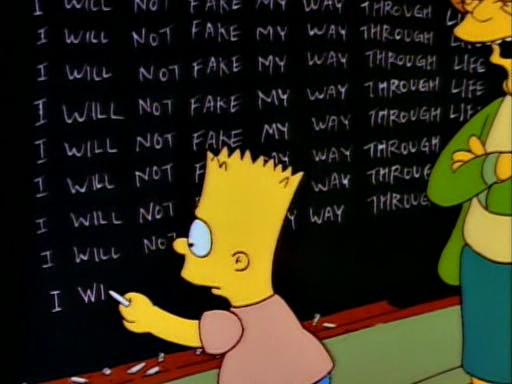 Bart Gets an F4