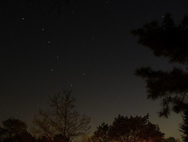 Big Dipper & North Star