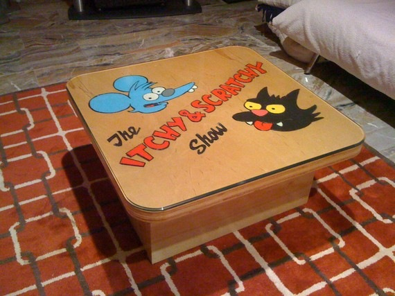 Itchy & Scratchy Coffee Table