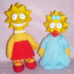 Old Lisa & Maggie Dolls