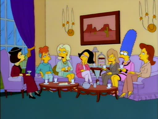 Marge and the Rich Women