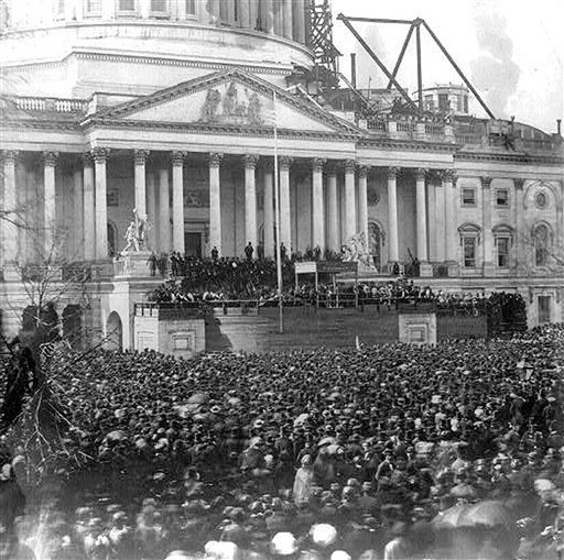Lincoln's First Inauguration