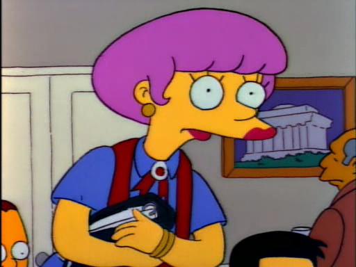 Mr Lisa Goes to Washington5