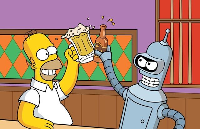 Homer & Bender