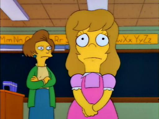 Bart's Friend Falls in Love2