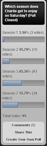 Season 3 Poll
