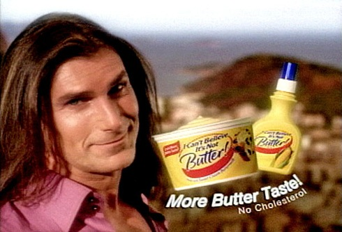 Fabio Can't Believe It's Not Butter