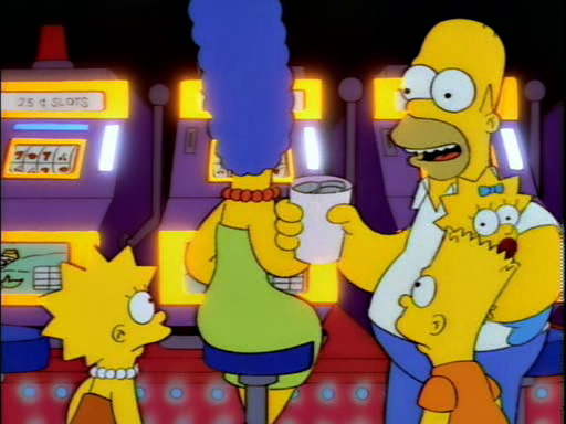 The simpsons marge gambling problem asian gambling