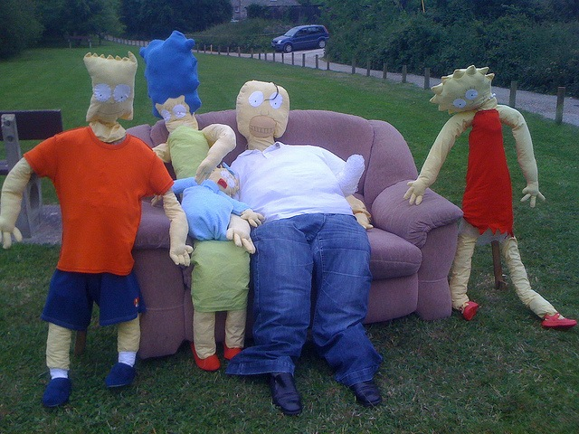 Simpsons Scarecrow Festival (Isle of Wight Radio)