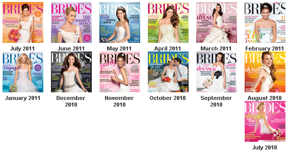 The Remains of Modern Bride Magazine