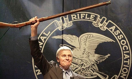 Charlton Heston NRA