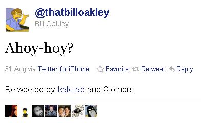 Oakley Tweet - Instigation