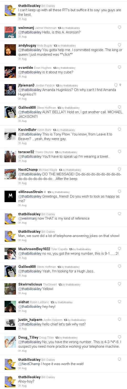 Oakley Tweet - Response