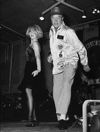 Joey Heatherton and Bob Hope