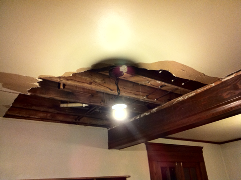 Dave's Ceiling Hole
