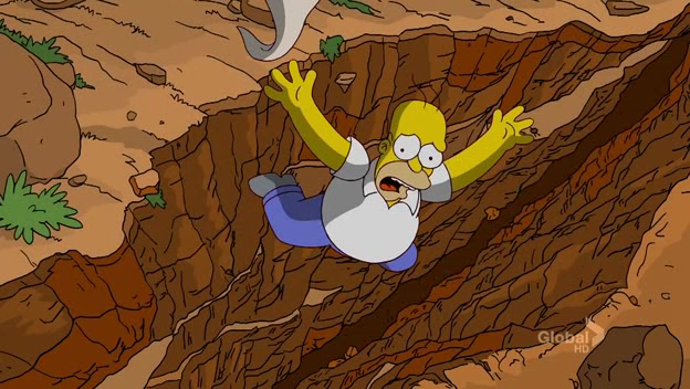 Giant Homer, Tiny Canyon