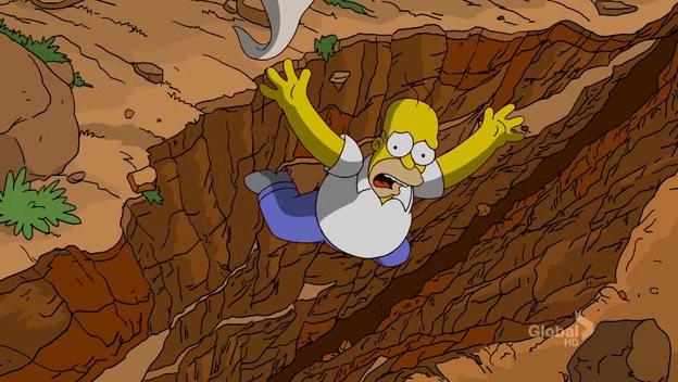 Giant Homer, Tiny Canyon