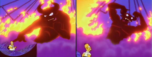 Simpsons Satan