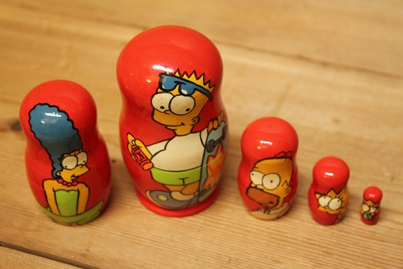 Simpsons Matryoshka