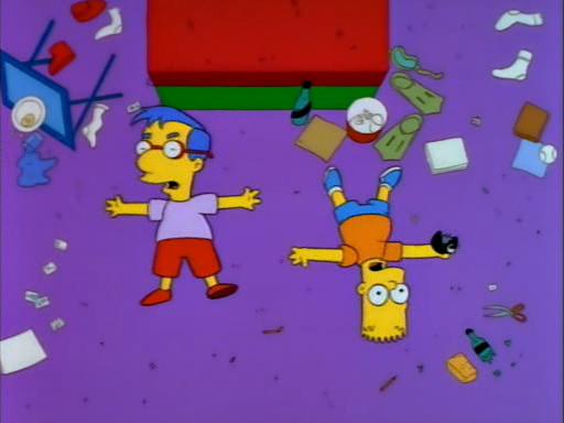 Bart's Friend Falls in Love7