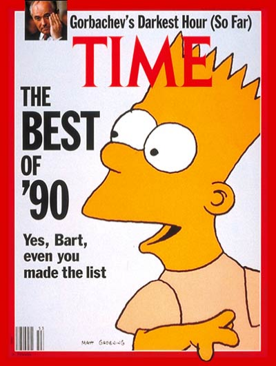 Time Magazine Cover (31 Dec 1990)