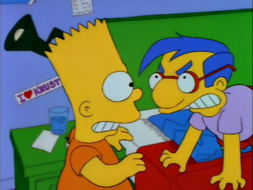Bart's Friend Falls in Love8