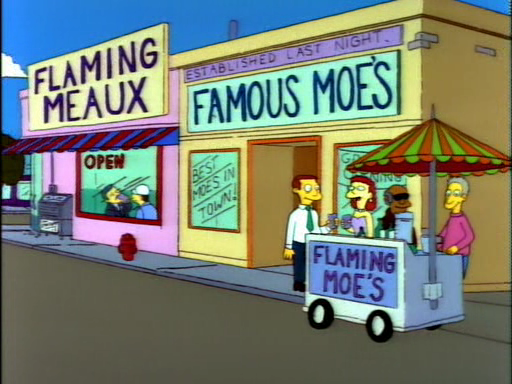 Flaming Moe's8