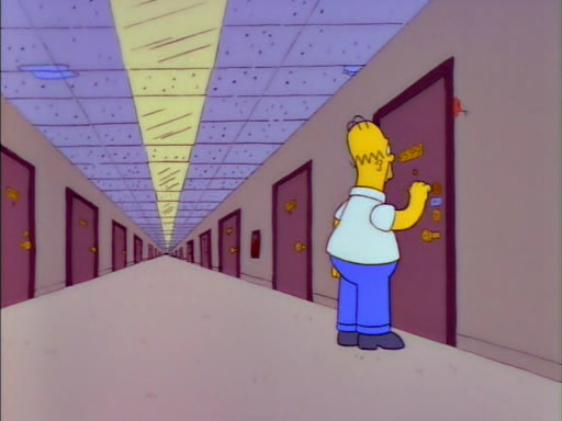Homer Alone9