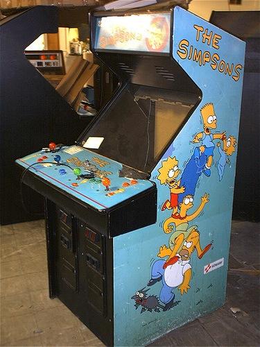 Simpsons Arcade Console