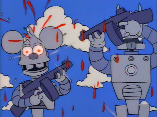 Itchy and Scratchy Land9
