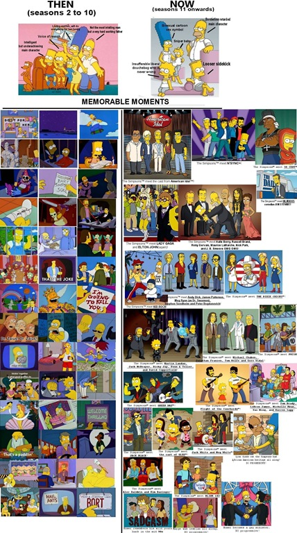 Simpsons Then and Now1